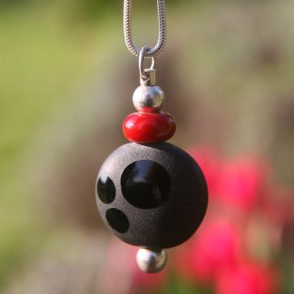 bijoux pushi pendentif murano perle de verre artisan subbiotto france
